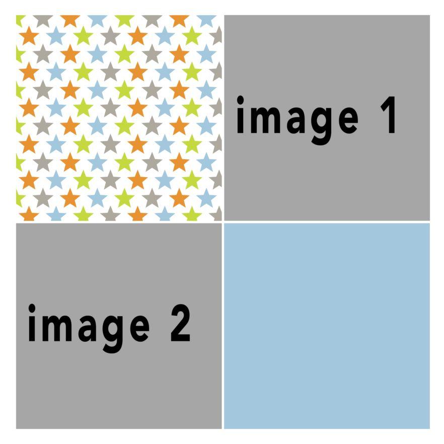 Photo Book Template: Fun Squares